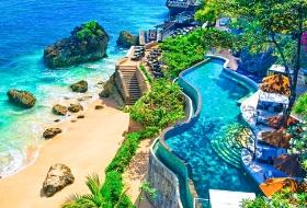 南昌直飞巴厘岛狂欢加勒比海盗船5日游(加勒比海盗船出海狂欢派对、海神庙、乌布皇宫、库塔海滩、洋人街),江西到巴厘岛旅游