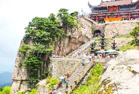最新南昌到九华山旅游行程