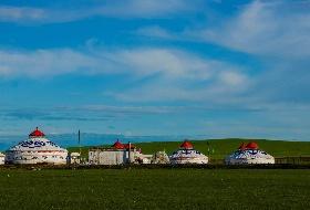 呼伦贝尔大草原、根河、额尔古纳、撒欢牧场(俄罗斯族乡)、满洲里双飞6日游