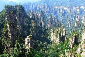 【天桥传奇】张家界国家森林公园-云天渡玻璃桥+大峡谷-天门山/玻璃栈道 纯玩5日游 南昌到湖南旅游